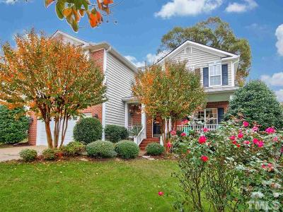 Fuquay Varina Single Family Home Contingent: 2420 Deermist Way