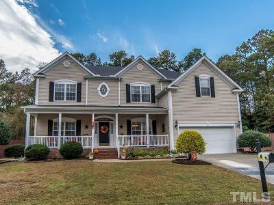 Apex Single Family Home For Sale: 3716 Sawyers Mill Drive