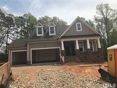 Raleigh Single Family Home Pending: 8809 Noble Flaire Drive