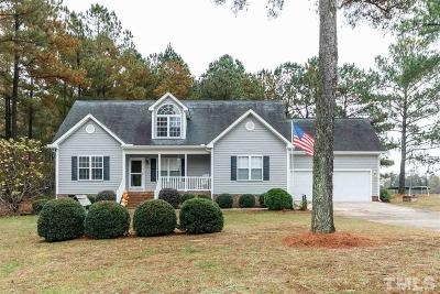 Zebulon Single Family Home For Sale: 1017 Sawyer Creek Drive