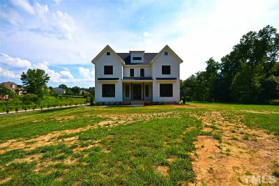 Wake Forest Single Family Home For Sale: 3801 Purnell Road