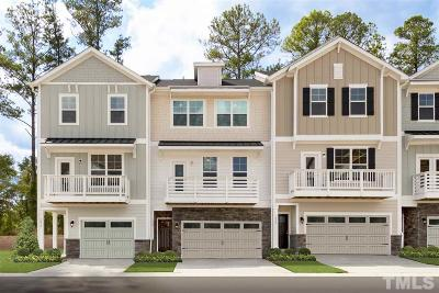 Apex Townhouse For Sale: 2218 Red Knot Lane #Lot 39