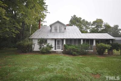 Durham County, Franklin County, Granville County, Guilford County, Johnston County, Lee County, Nash County, Orange County, Wake County Single Family Home For Sale: Sawmill Road