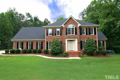 Cary Single Family Home For Sale: 6814 Tryon Road