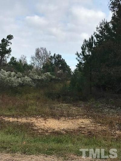 Harnett County Residential Lots & Land Pending: 4020 South River Road