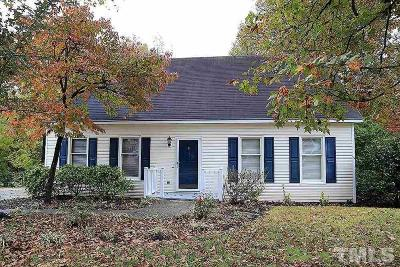 Mebane NC Single Family Home Contingent: $177,000