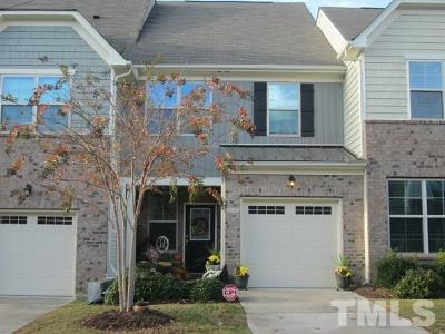 Cary Townhouse For Sale: 740 Davenbury Way