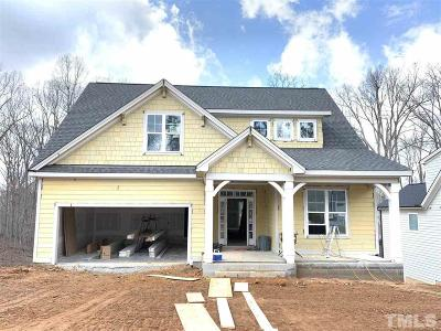 Fuquay Varina Single Family Home For Sale: 2409 Plowridge Road #Lot 249