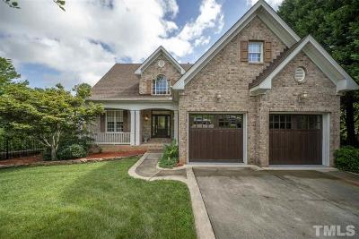 Wake Forest Single Family Home For Sale: 7824 Fairlake Drive
