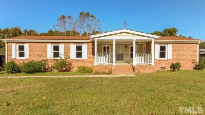 Zebulon Single Family Home Pending: 1509 Parks Village Road