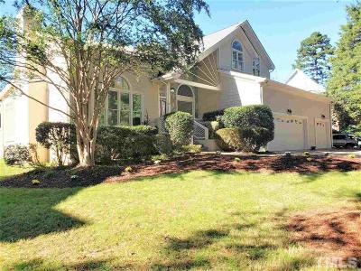 Wake County Single Family Home For Sale: 8845 Wildwood Links