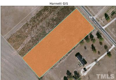 Harnett County Residential Lots & Land For Sale: 5700 Titan Roberts Road