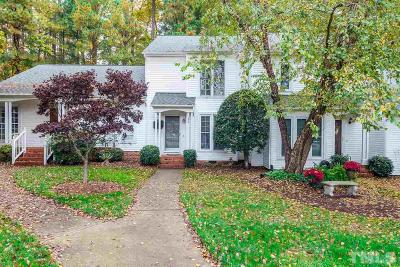 Cary Townhouse For Sale: 135 Planetree Lane