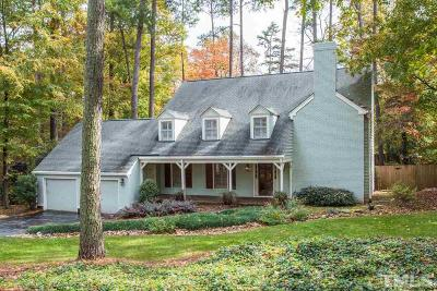 Raleigh Single Family Home For Sale: 2504 Ridge Road