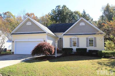 Clayton Single Family Home Contingent: 148 River Hills Drive