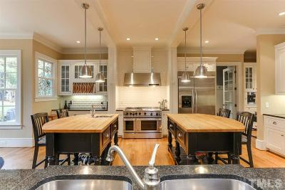 Raleigh NC Single Family Home For Sale: $1,300,000