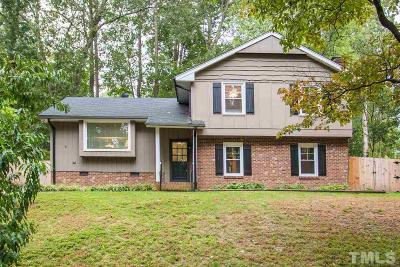 Cary Single Family Home Contingent: 928 Manchester Drive