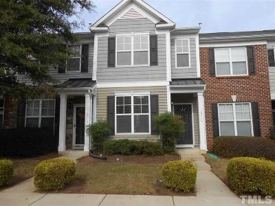 Raleigh Townhouse For Sale: 6715 Morgantown Street