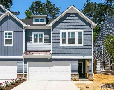 Cary Townhouse For Sale: 255 Vista Creek Place