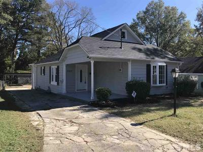Durham Single Family Home For Sale: 2307 Lincoln Street