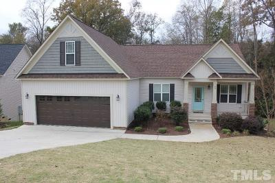 Garner Single Family Home For Sale: 89 Carson Drive