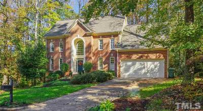 Cary Single Family Home Contingent: 7021 Spring Ridge Road