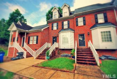 Raleigh Townhouse Contingent: 2403 Trout Stream Drive