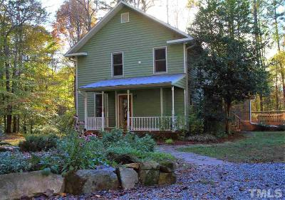 Pittsboro Single Family Home Contingent: 118 Riverbirch Drive