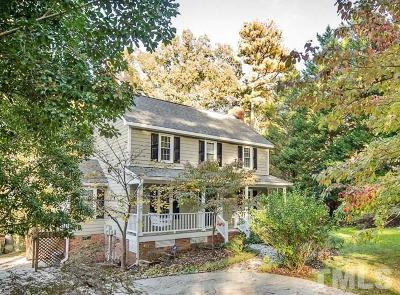 Garner Single Family Home Contingent: 1109 Woodbrook Way