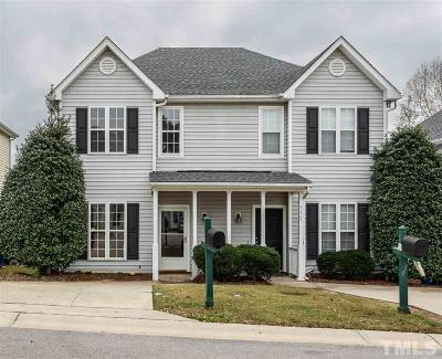 Raleigh Townhouse For Sale: 5326 Cog Hill Court