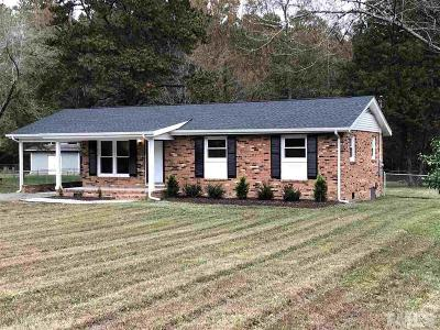 Durham County Single Family Home Contingent: 6914 Innesbrook Way
