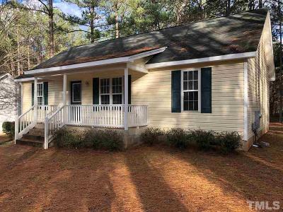 Louisburg Single Family Home For Sale: 154 Horseman Drive