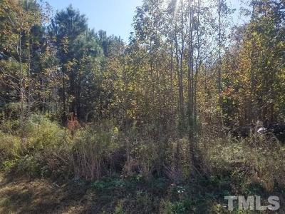 Harnett County Residential Lots & Land For Sale: 126 Williams Creek Drive