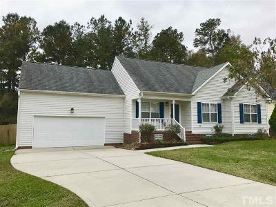 Clayton Single Family Home For Sale: 109 Pondfield Court