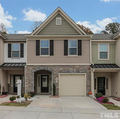 Raleigh Townhouse For Sale: 2803 Benevolence Drive