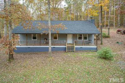 Youngsville Single Family Home Pending: 167 John Mitchell Road