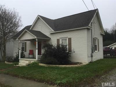 Youngsville Single Family Home Pending: 125 W Main Street