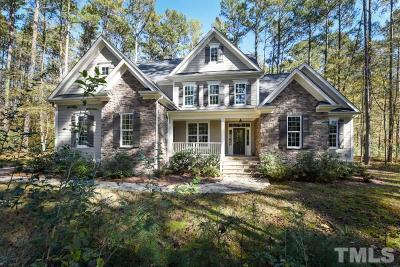 Pittsboro Single Family Home For Sale: 230 Harrison Pond Drive