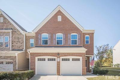 Cary Townhouse For Sale: 245 Kylemore Circle