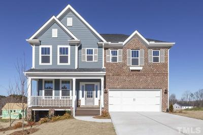 Single Family Home For Sale: 2932 Thurman Dairy Loop #Lot 78