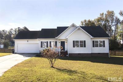Fuquay Varina Single Family Home Contingent: 95 Ironwood Drive