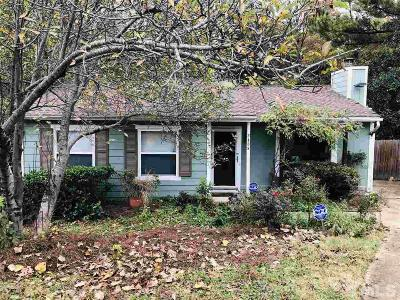 Raleigh Single Family Home For Sale: 2408 Boothbay Court