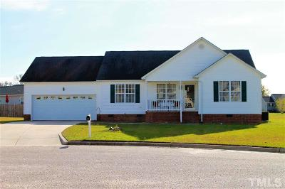 Harnett County Single Family Home For Sale: 106 Greenwich Court
