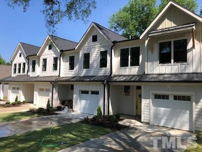 Cary Townhouse Contingent: 518 Wood Street