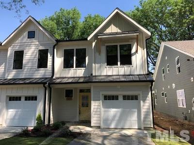 Cary Townhouse For Sale: 516 Wood #4
