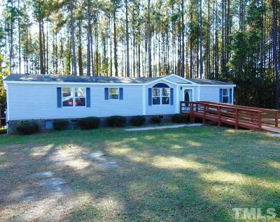 Angier Manufactured Home For Sale: 775 Massengill Pond Road