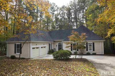 Chapel Hill Single Family Home For Sale: 101 Oosting Drive