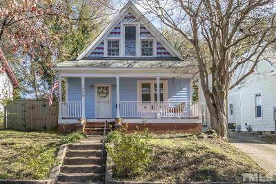 Raleigh Single Family Home For Sale: 1005 S Person Street