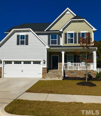 Wake County Single Family Home For Sale: 3522 Johnson Grant Drive