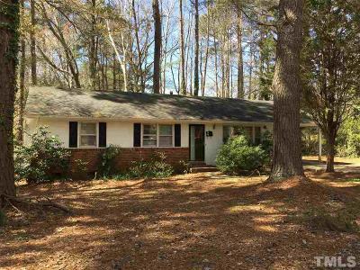 Cary Rental For Rent: 303 Gray Street